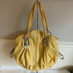b. makowsky Bags - B.MAKOWSKY Saffron Yellow Shopper Tote